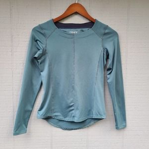 Dakine Long Sleeve Blue Top Size XS Solid Thick